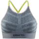 Craft Comfort Low Impact Biustonosz sportowy Kobiety szary